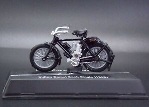 1906 Indian Motorcycle Camel Back Single Scale 1:32 Model Die Cast #A78