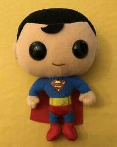 """Superman 7"""" POP Plushies (very good condition with no tags)"""