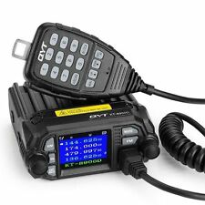 QYT KT-8900D Dual Band Quad Standby 5Tone 25W VHF UHF Cable Car Mobile Radio