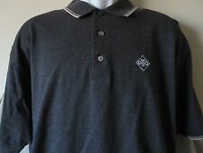 PING OTTO Collection Gray Short Sleeve Polo Shirt Golf Size Large
