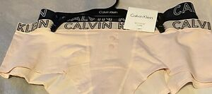 Brand New Women's Calvin Klein Buttoned Boyshorts Sz XL $26 Value Pink & Navy