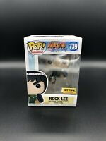 Funko POP! Naruto Shippuden Rock Lee #739 Hot Topic Exclusive with Protector