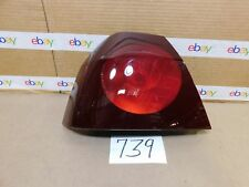 00 - 05 CHEVROLET IMPALA DRIVER Side Tail Light Used Rear Lamp #739