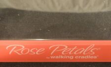 TS-002 Rose Petals by Walking Cradles Plexiglas Store Shoe Display Vintage