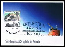 Australia / Korea • 2017 • Cancel:Hobart & Korea. Cachet: Icebreaker ARAON