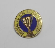 ARSENAL FC  - SMALL ENAMEL VINTAGE ECWC WINNERS 1994 BADGE