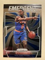 2019-20 Panini Prizm Emergent RJ Barrett Rookie Card Insert #27 - MINT! WOW!!