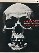 Arch Oboler: Drop Dead! exercise in horror! 1962 Cd Copy only