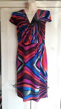 Ladies Coloured Lined Dress from Per Una in a size 12