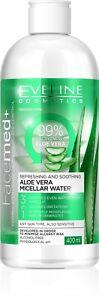 Eveline Facemed+ Aloe Vera Micellar Water Moisturizes Regenerates Face Skin400ml