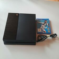 Sony PlayStation 4 500GB Konsole - Schwarz (CUH-1004A) + Spiele