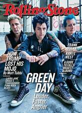 Rolling Stone Magazine Green Day Billie Joe Armstrong Kanye West Frank Ocean NEW