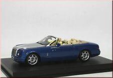Rolls-Royce Phantom Drophead Coupe 2007 blau silber blue silver Minichamps 1:43
