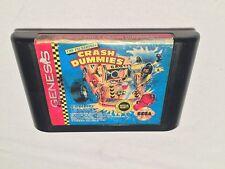 The Incredible Crash Dummies (Sega Genesis) Game Cartridge Nice!