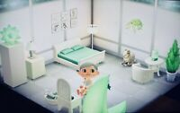 Animal Crossing New Horizons 🌿🤍 Traumhaftes Schlafzimmer in weiß 🤍🌿