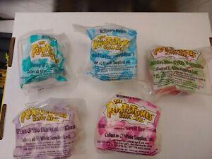 McDonalds 1994 The Flintstones Complete 5 Toys Set