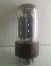 PHILCO 6BX7GT Black Plate Vacuum Tubes  Tested Good!