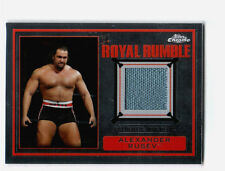 WWE Alexander Rusev 2014 Topps Chrome Event Used Royal Rumble Mat Relic Card
