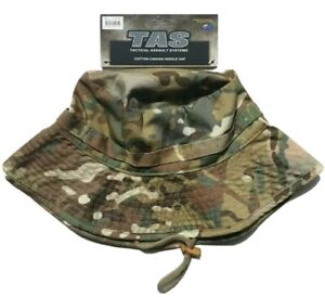 MULTICAM WIDE BRIM GIGGLE HAT 100% COTTON WITH DOUBLE LAYER BRIM AND SIDE VENTS