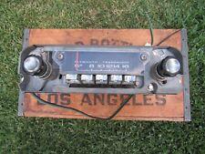 Vintage Original 1966 1967 Plymouth AM Radio Mopar Model 230