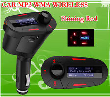 Car Mp3 Player Kit with Aux Audio Usb Flash SD Card FM Transmitter Modulator