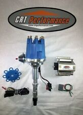 AMC V8 SMALL CAP HEI DISTRIBUTOR BLUE + 50K COIL 290 304 343 360 390 401 JEEP