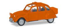 HERPA 027632-004  Citroen 2 CV mit Queue, orange  1:87