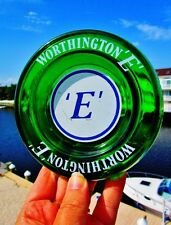 Worthington E Pure Ale BEER - Vintage Bar Brewery Emerald Green Glass Ashtray