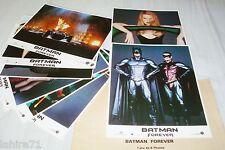 BATMAN forever ! jeu de photos cinema comics lobby card