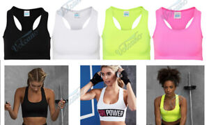 WOMENS SPORTS BRA, GIRLIE COOL SPORTS CROP TOP FOR GYM, WORKOUTS, RUNNING, YOGA
