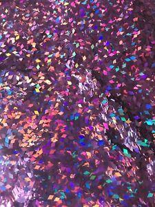 "Nail Art 2mm Diamond Shape Rhombus Holographic Glitter ""PINK DIAMONDS"" - 4g Bag"