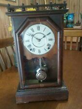 Antique (1880s?) 'Omaha' City Series Parlor Clock