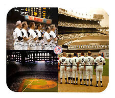Item#155 Yankees Old-timers SALE $7.99 4-view Facsimile Autographed Mouse Pad