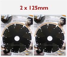 2x 125mm Cedima Universal Diamanttrennscheibe AR-Multicut für Winkelschleifer