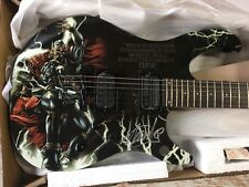 Peavy Thor Predator Guitar Marvel Series Signed By Stan Lee W/Authentication