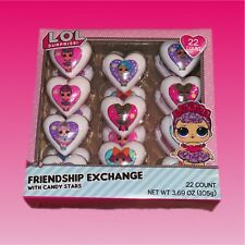 Lol Surprise Dolls Valentines Day Friendship Exchange Hearts With Candy Stars
