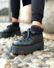 Dr Martens Caraya Negro Zapatos De Plataforma Talla 6