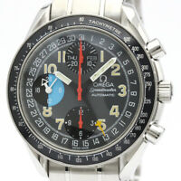 Polished OMEGA Speedmaster Mark 40AM/PM Steel Automatic Watch 3520.53 BF508078