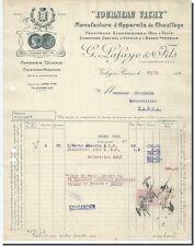 "G Lafaye & fils ""Fourneau Vichy"" Manufacture Appareils de chauffage à Vichy 1919"