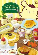 Re-ment Pompompurin PompomCafe 1 Box 8pcs From Japan KAWAII !!