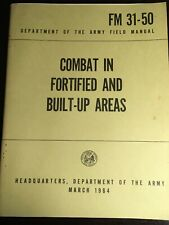 FM 31-50 Combat In Fortified And Built Up Areas March 1964