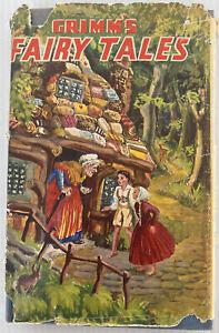 Vintage Grimm's Fairy Tales Hamlyn Classic Hardcover 1950s?