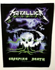 METALLICA  CREEPING DEATH    BACK  PATCH