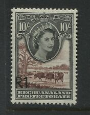 """Bechuanaland QEII 1961 10/ overprinted """"R1"""" unmounted mint NH"""