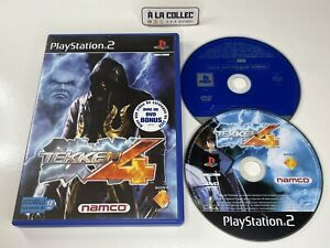 Tekken 4 + DVD Bonus - Jeu Sony Playstation 2 PS2 (FR) - PAL - Sans notice