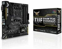 ASUS AMD B450 mounted AM4 compatible motherboard TUF B450M-PLUS GAMING M-ATX