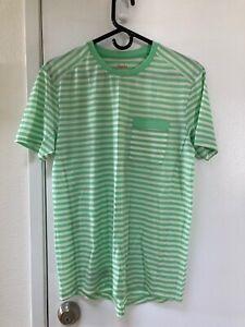 NWOT RAPHA Pocket Tee Shirt Striped Merino wool  Size Medium