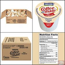 NESTLE COFFEE-MATE Coffee Creamer,KOSHER, liquid creamer singles, Pack of 180