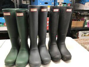 Hunter Women's Original Classic Tall Rain Boots - Ladies Rubber Boot