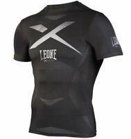 T-Shirt Leone Rashguard Extrema Compressione Tecnica Boxe Thai Kick ABX14